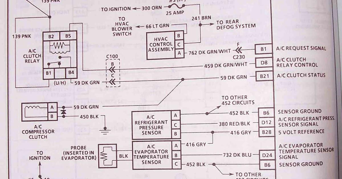 94 Caprice Starter Wiring Diagram