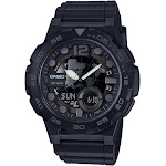Casio Men's Analog Digital Resin Sport Watch - Black