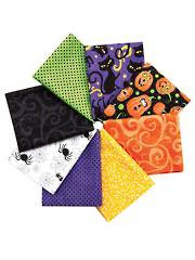 Hallow's Eve Fat Quarters-8/pkg.
