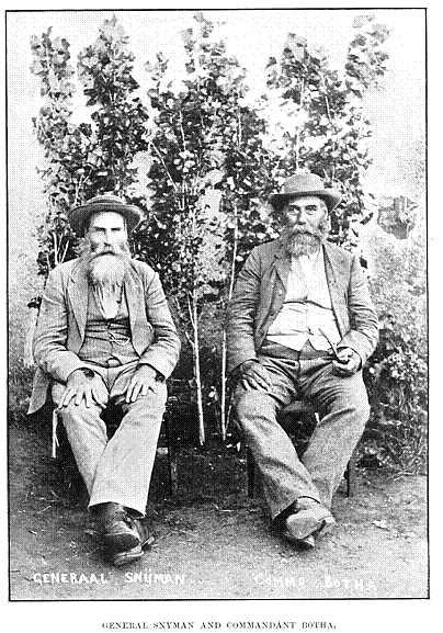 General Snyman and Commandant Botha