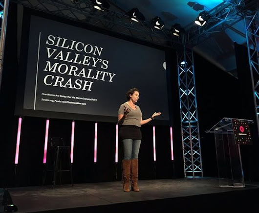 "Sarah Lacy at Startup Fest: ""Silicon Valley's Morality Crash"""
