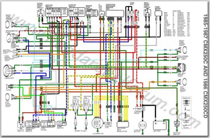 19 Elegant 1984 Honda Trx 200 Wiring Diagram