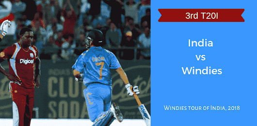 IND vs WI Dream11 3rd T20I Match Prediction & Playing 11