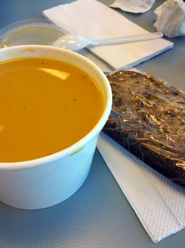 Butternut Squash Soup & Banana Bread