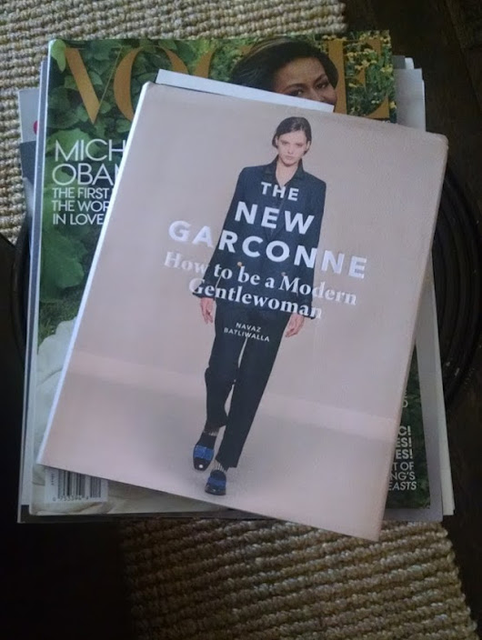 The New Garconne - Walking with Cake
