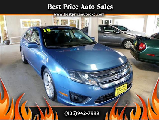 Used 2010 Ford Fusion for Sale in Oklahoma City OK 73112 Best Price Auto Sales