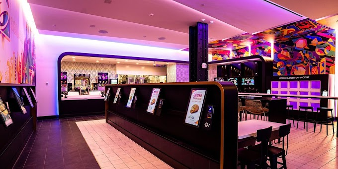 Taco Bell Opened A Digital-Only Restaurant In NYC And It's So Futuristic Inside