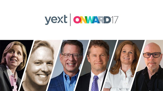 Yext Announces ONWARD '17 Day One Mainstage Speakers - Yext
