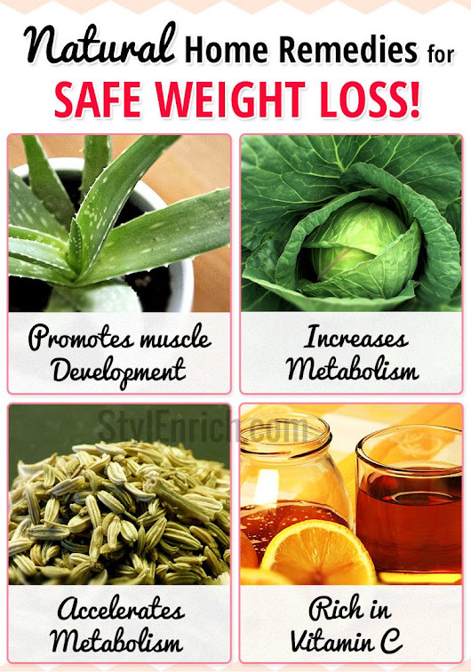 Natural Home Remedies for Safe Weight Loss That You Will Love To Know