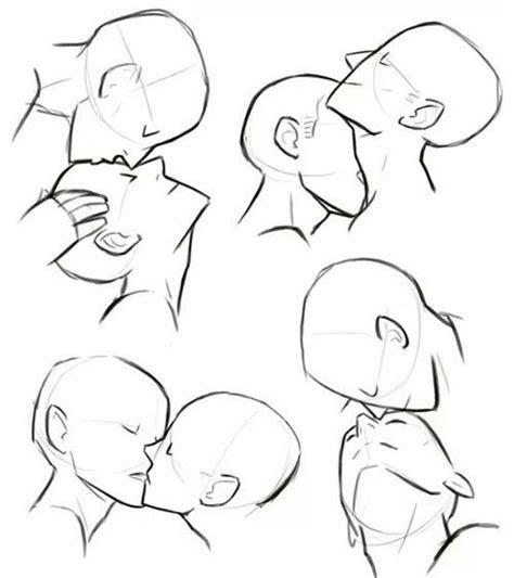 kiss tutorial  anime image kissing drawing