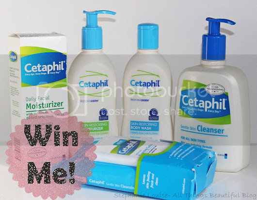 Stephanie Louise- All Things Beautiful: Break Up with your Makeup & Win BIG with Cetaphil for my Readers!