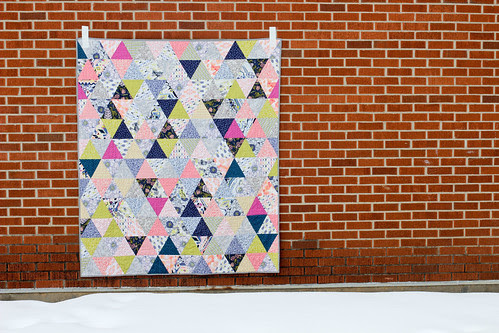 Triangularity Quilt Pattern by Jeni Baker