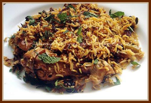 Hyderabadi Chicken Briyani