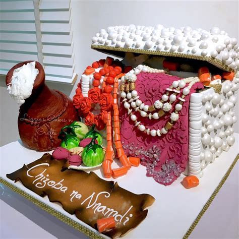 Top 25 Yoruba Traditional Wedding Cakes   Nigerian