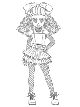 kidsnfun  12 coloring pages of lol surprise omg