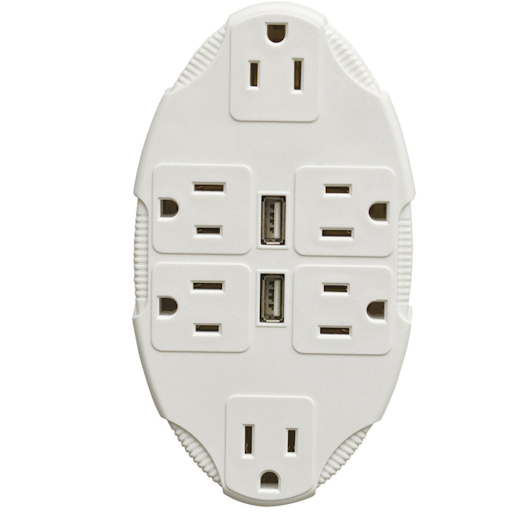 Outlet Multiplier With USB Ports by Idealworks - $9.99