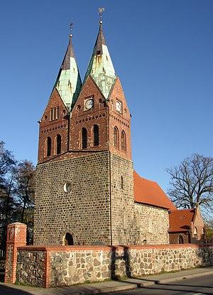 Church in Werneuchen-Willmersdorf in Brandenbu...