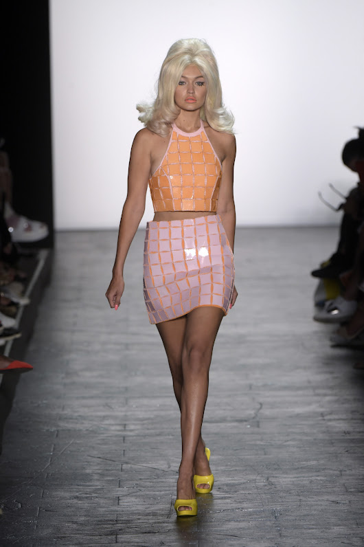 Review: Jeremy Scotts brings back mod style to NYFW