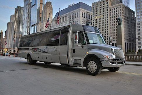 Party Bus Chicago | Party Bus With Bathroom | Chicago Party Bus Rental