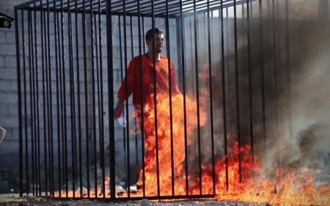 Resultado de imagem para cristão queimado vivo estado islâmico