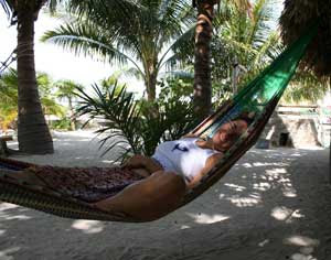 relax in holbox mexico