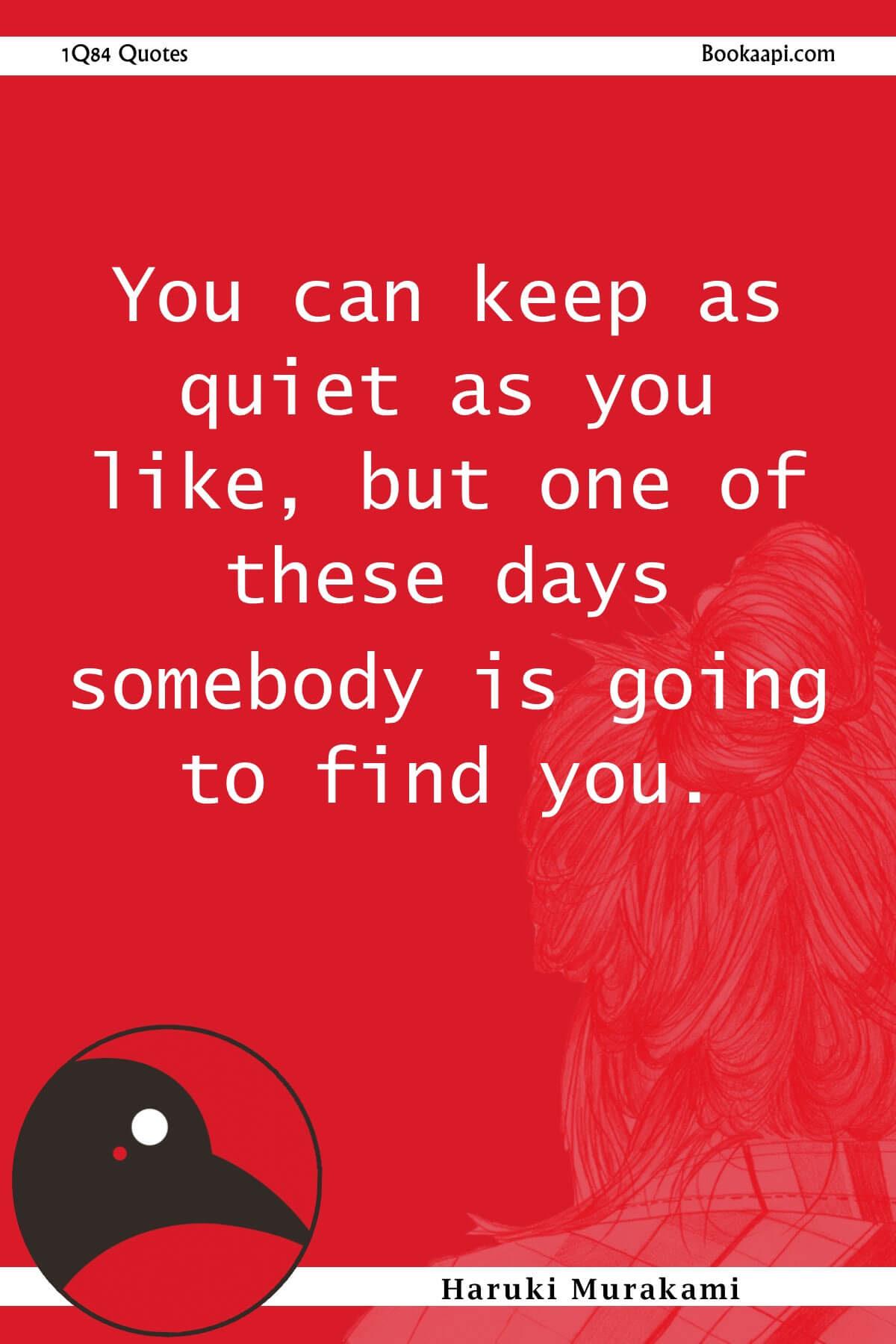15 Entrancing 1q84 Quotes By Haruki Murakami Images