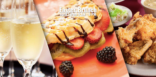 Celebrate Easter at Knott's Berry Farms Champagne Brunch