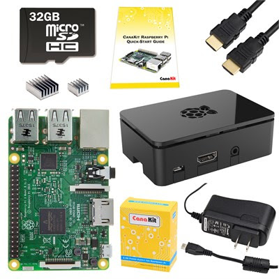 Raspberry Pi 3 Complete Starter Kit - 32 GB Edition