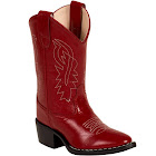 Old West Children's Boots J Toe Western Boot