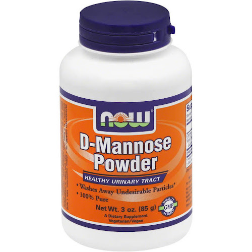 NOW D-Mannose Powder - 3 oz canister