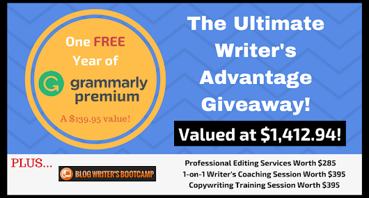 Cash in With The Ultimate Writer's Advantage Giveaway