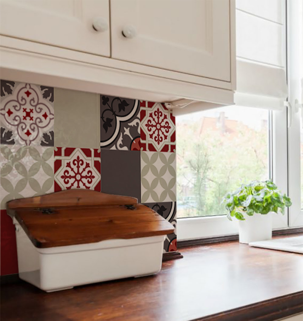Tile Wall Decals 178 Vanillco