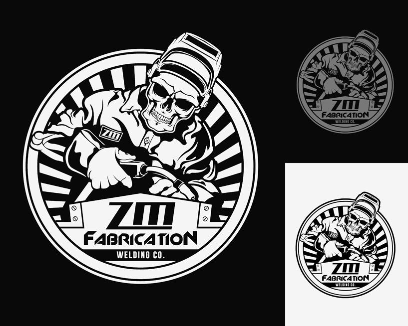 Logo Design Contest for ZM Fabrication - Design for New ...