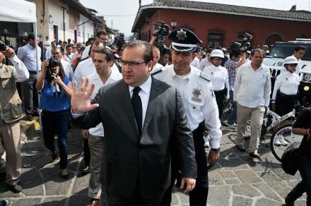 Javier Duarte, gobernador de Veracruz. Foto: Miguel Ángel Carmona