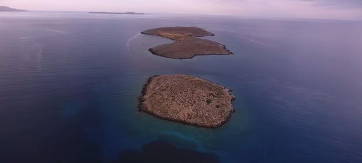 Μαγεία στο ανατολικότερο άκρο της Κρήτης -Παραλία Χιόνα & τα νησάκια Γράντες [βίντεο]