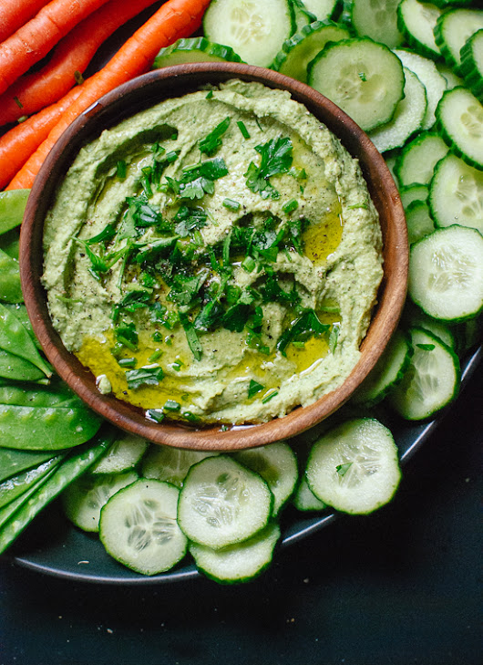 Green Goddess Hummus Recipe - Cookie and Kate