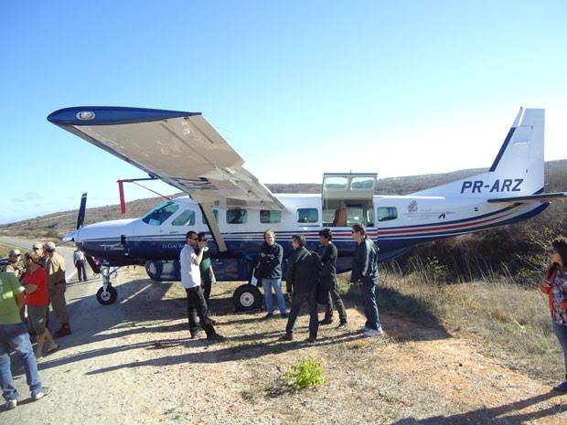 Avião (Foto: Wilker Porto/Brumado Agora)