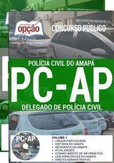 Apostila POLÍCIA CIVIL - AP - DELEGADO 2017
