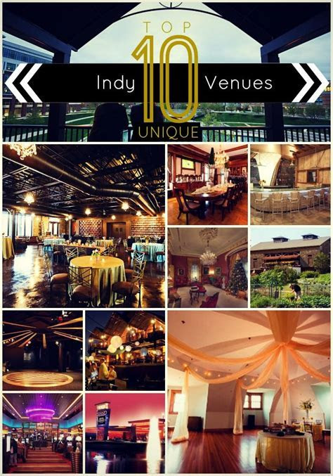Throwing an Original Event: Top 10 Unique Indianapolis
