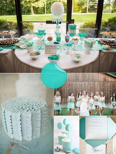 Wedding Colors Tiffany Blue