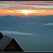 Sunrise at the Nyiragongo Camp