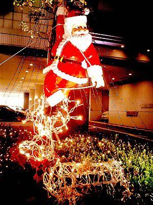 Santa Claus (in Kobe Japan)