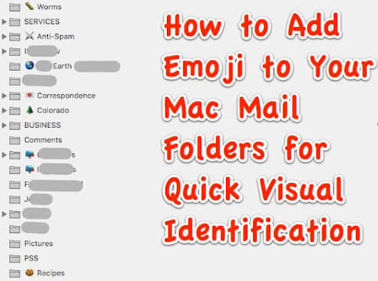 You Can't Change the Color of Mailbox Folders in Mac Mail but You CAN Do This! - The Internet Patrol