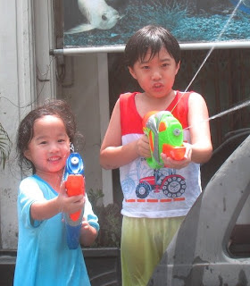 Songkran is great fun for kids