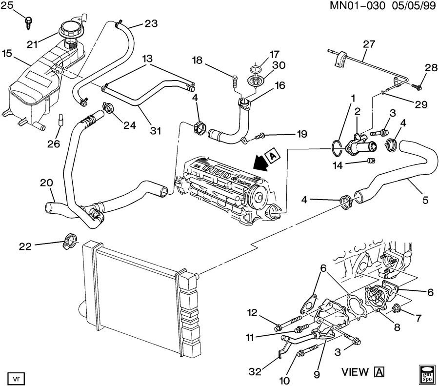 Pontiac Grand Am V6 Engine Diagram