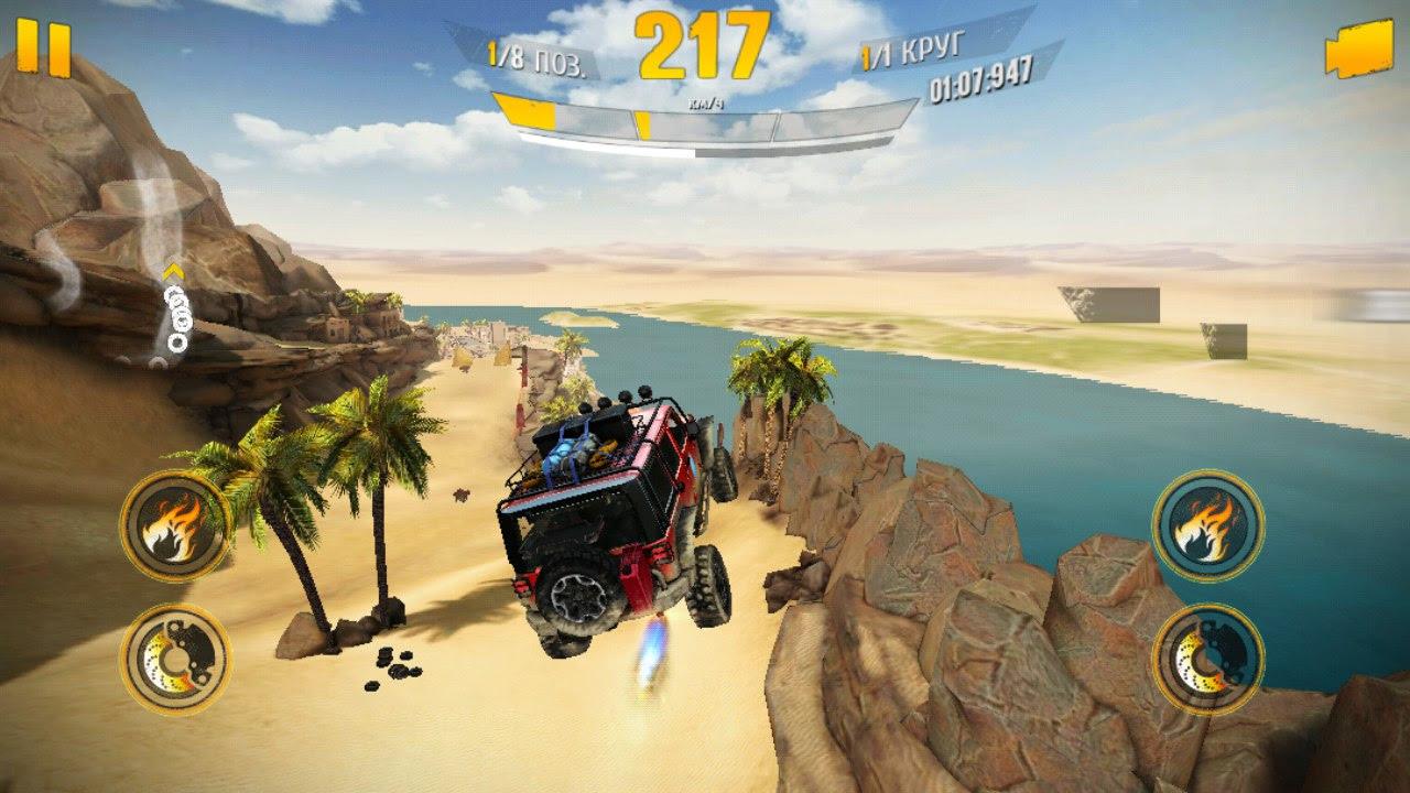 nhiệm vụ để chơi trong Asphalt Xtreme mobile