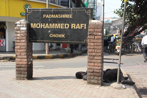 Welcome To Bandra Mohomed Rafi Chowk... by firoze shakir photographerno1