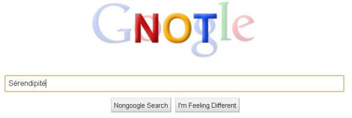 sérendipité-google