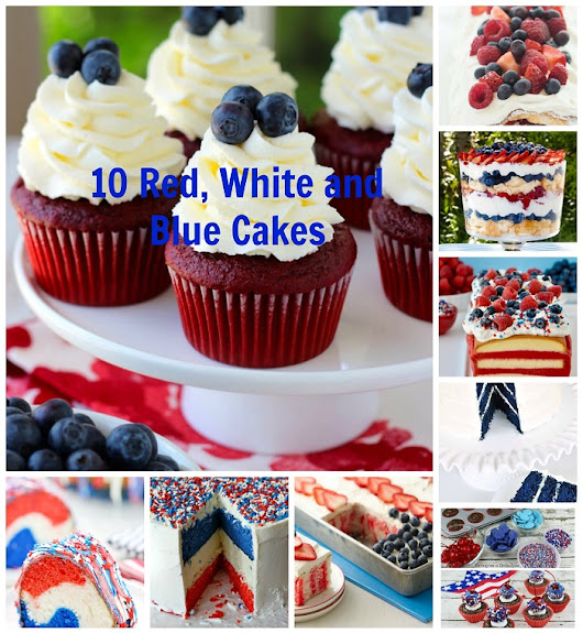10 Red, White and Blue Cakes That Rock For Fourth of July - Six Feet Under Blog