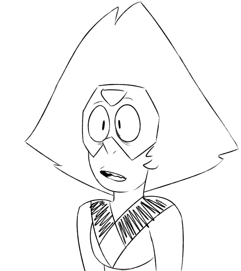 I like the way that Zuke draws peridot